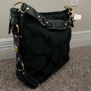 Brand new black Coach purse